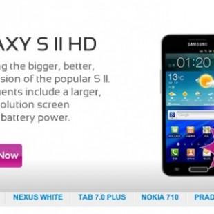 Pojavljuje se Samsung Galaxy S II HD