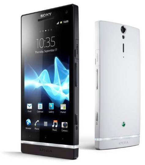 Xperia S - crna i bela