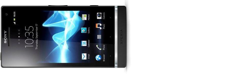 Sony Xperia S - glavna