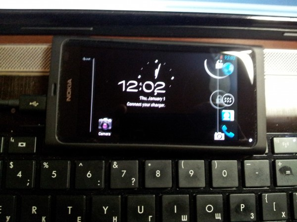 Nokia N9 Android 4.0