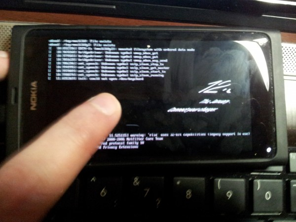 Nokia N9 Android Ice Cream Sandwich