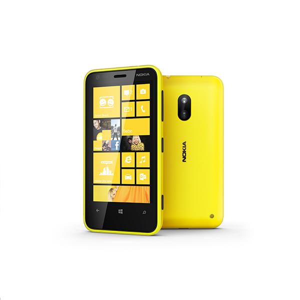 Nokia Lumia 620 - žuta