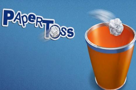 Paper Toss
