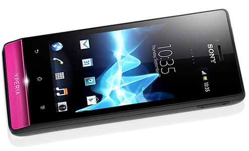 Sony Xperia miro naslovna