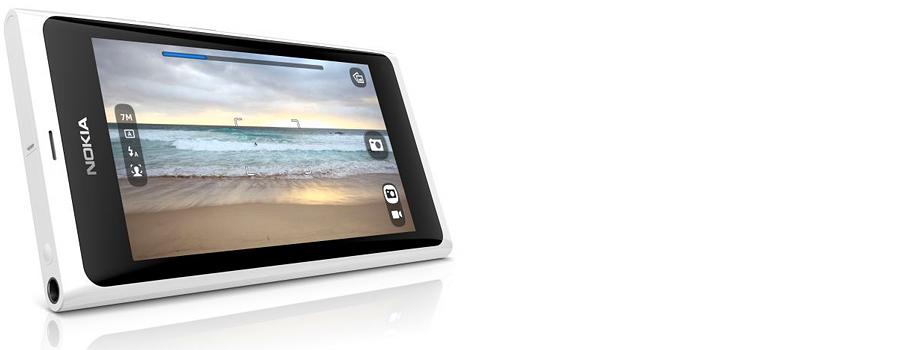 Nokia N9 bela