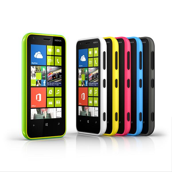 Nokia Lumia 620 - kombinacije boja