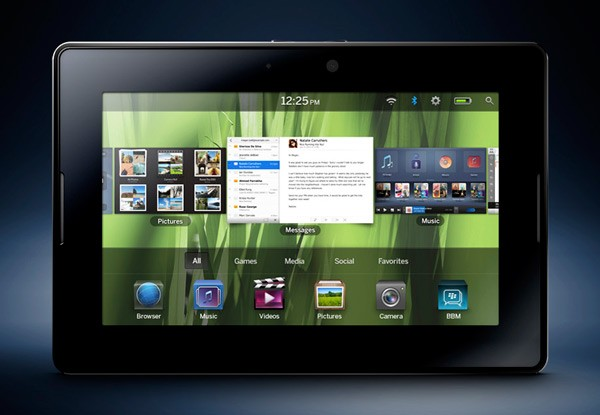 Blackberry Playbook 2.0
